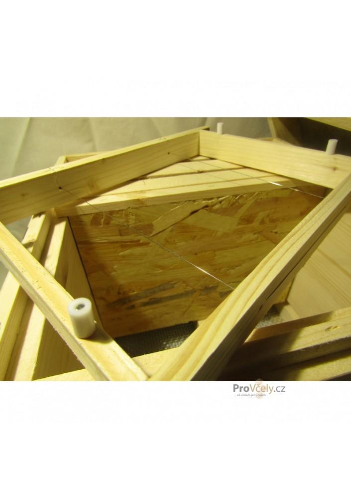 Mini úl -  nástavek s rámky bez dna a víka