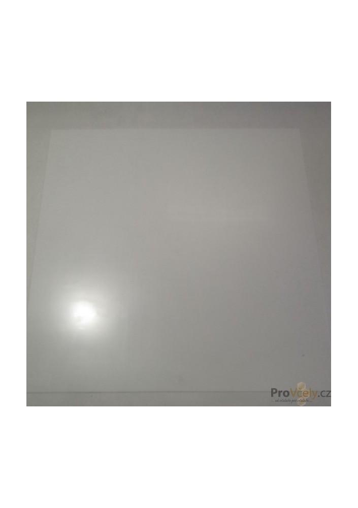 Podložka bílá 500x500 plast
