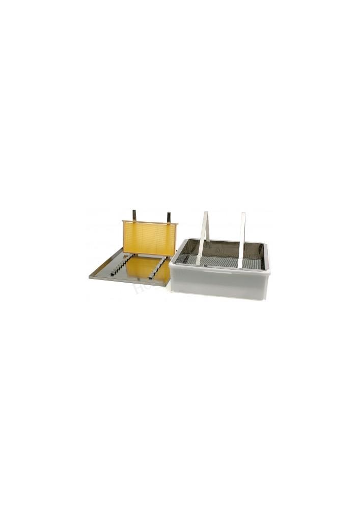 Talíř odvíčkovací jednoplástový nerez s odkládáním SIPA®
