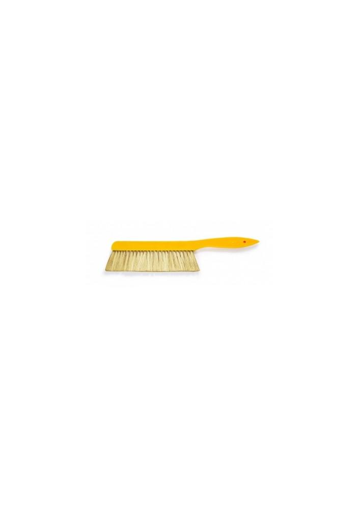 Smetáček žlutý malý APINORD plast 36cm SISAL