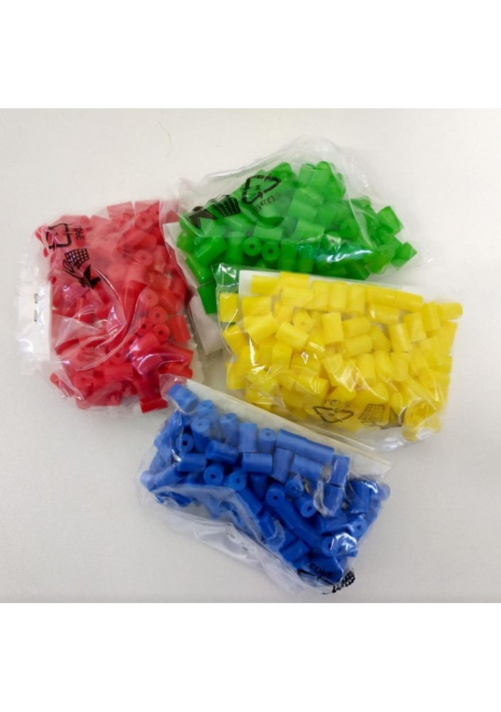 Mezerníky barevné žluté s hřebíčky 100ks